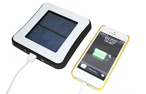 Window Attached Solar Charger 1800mAh