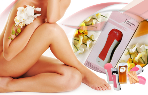 Personal Depilatory Waxing Set - Hair Removal Wax Kit  <i>Muntinlupa City</i>