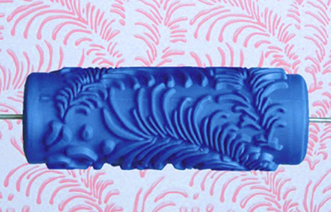 15cm Patterned Paint Roller Wall - Boheme 015Y