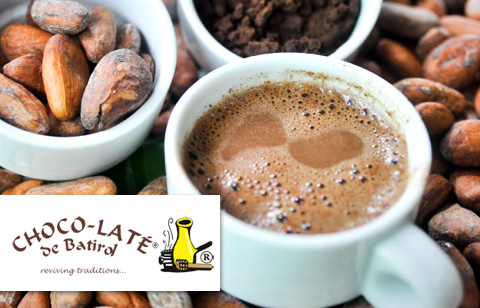 Traditional Hot Chocolate Drink at Choco-Laté De Batirol (Baguio City) good for 4 persons <i>Baguio City</i>