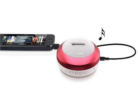 Yoobao YBL-201 Wireless Bluetooth 3.0 Mini Portable Speaker With Micro SD Card Slot