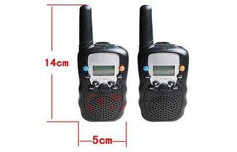 1 Pair of Amaeture 5 Km Walkie Talkie Radio