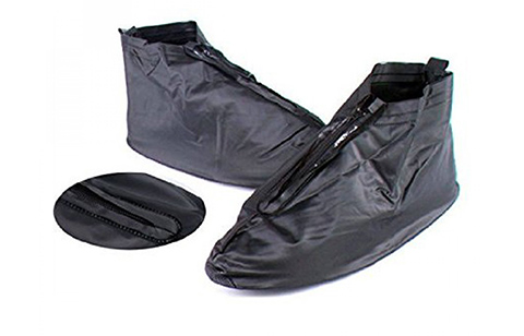 Plastic Zip Up Shoe Cover for Men